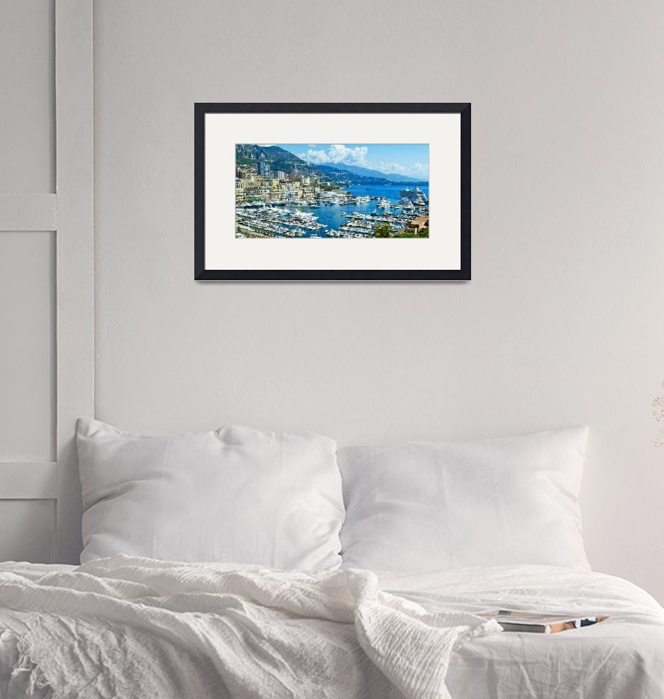 """""""Monte Carlo Harbour""""  (2014) by mjphoto-graphics"""