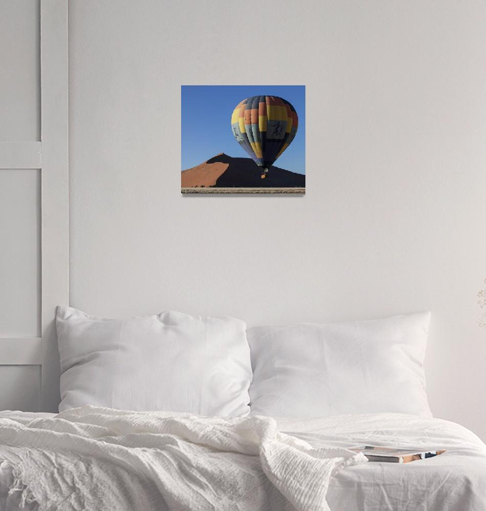 """""""Hot Air Balloon Full Frame""""  (2012) by ConnorOBrien"""