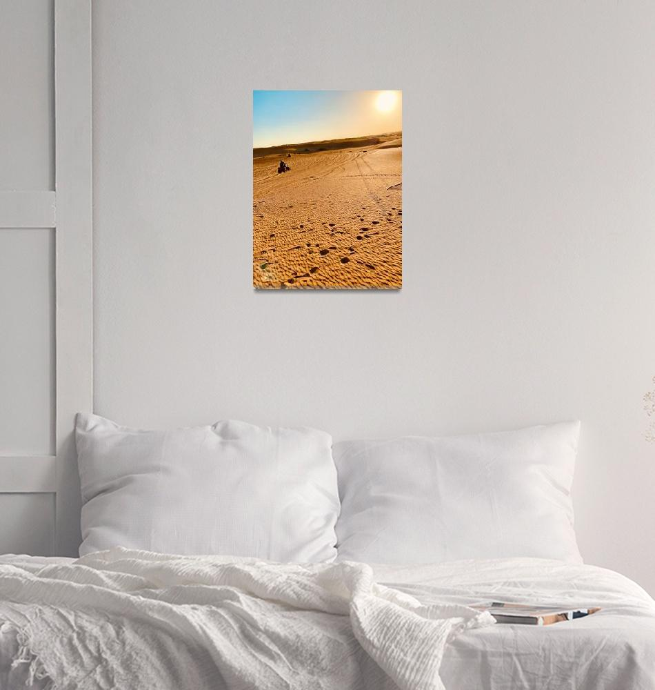 """Desert Safari""  (2019) by Milesawayfromaverage"