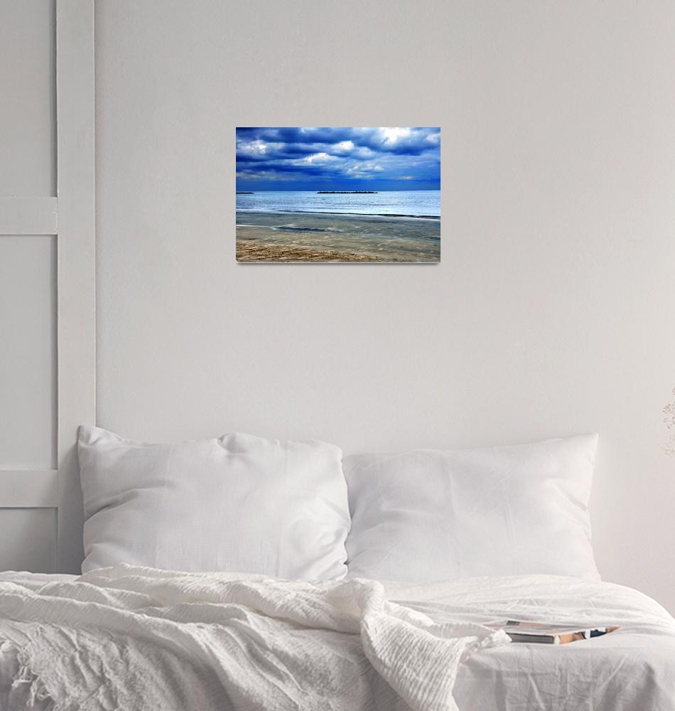 """""""Beach001""""  (2009) by RTMacGowan"""