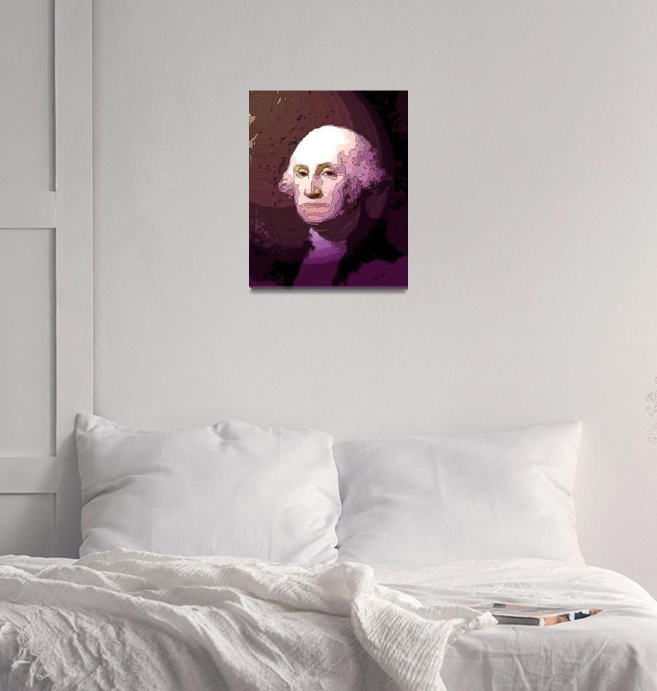 """George Washington""  (2008) by TrayMead"