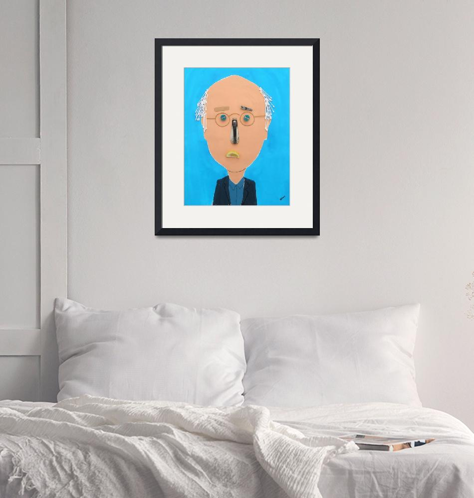 """Larry David""  by pivenworld"