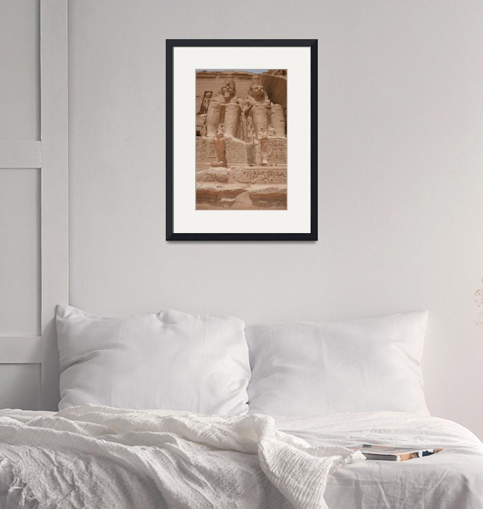 """""""A Pair of Ramses II""""  (2008) by DonnaCorless"""