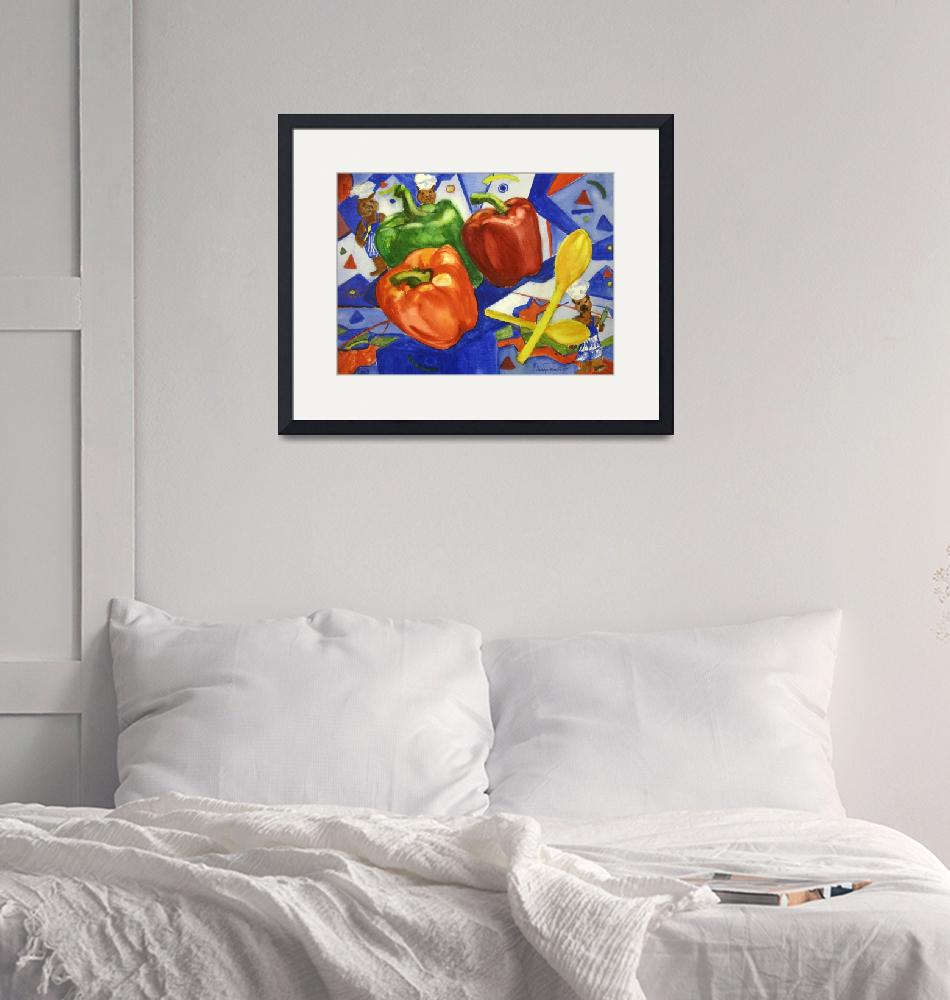 """""""Peppers And Bears By Sonya P.""""  (2001) by flowerswithfeelings"""