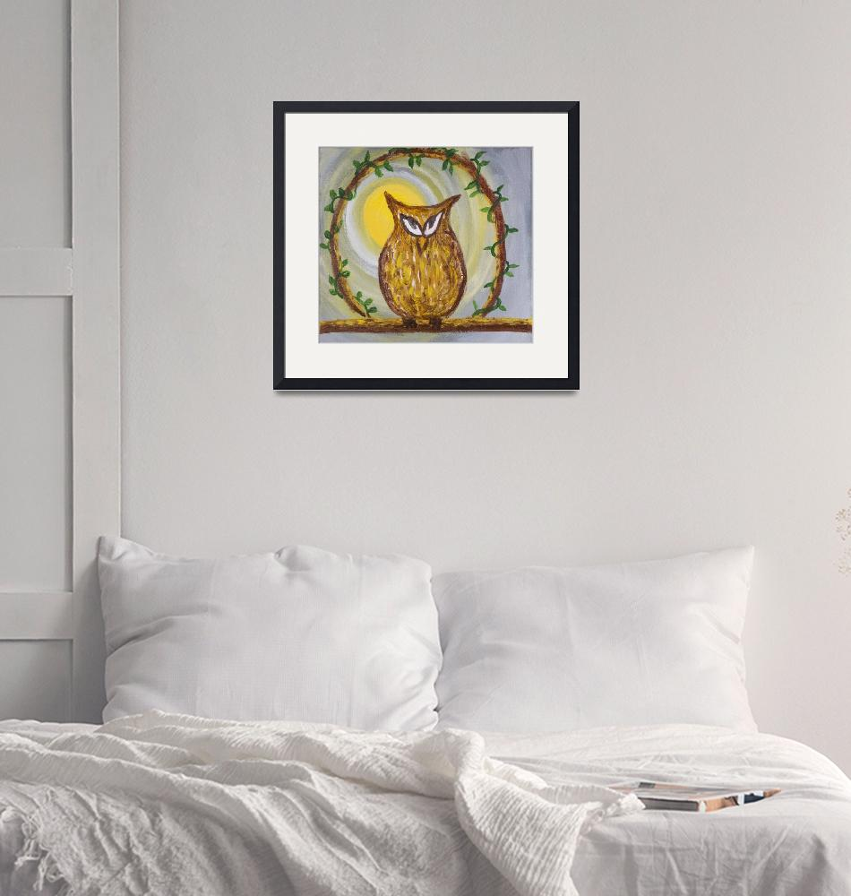 """""""The cunning owl""""  (2015) by cjmac"""
