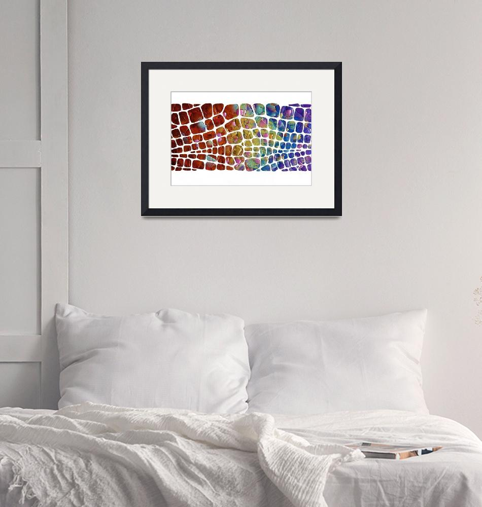 """""""Abstract """"scales""""""""  (2015) by modernhouseart"""