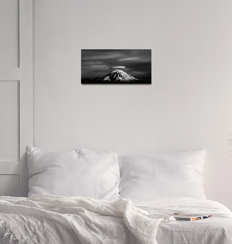 """Mount Rainer""  (2008) by frankacaba"