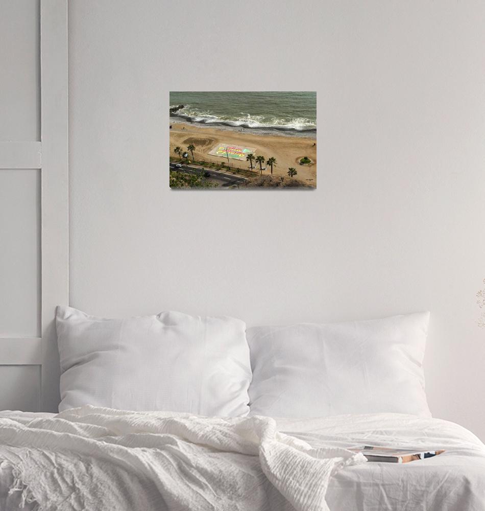 """Lima - Miraflores Beach""  (2014) by awsheffield"