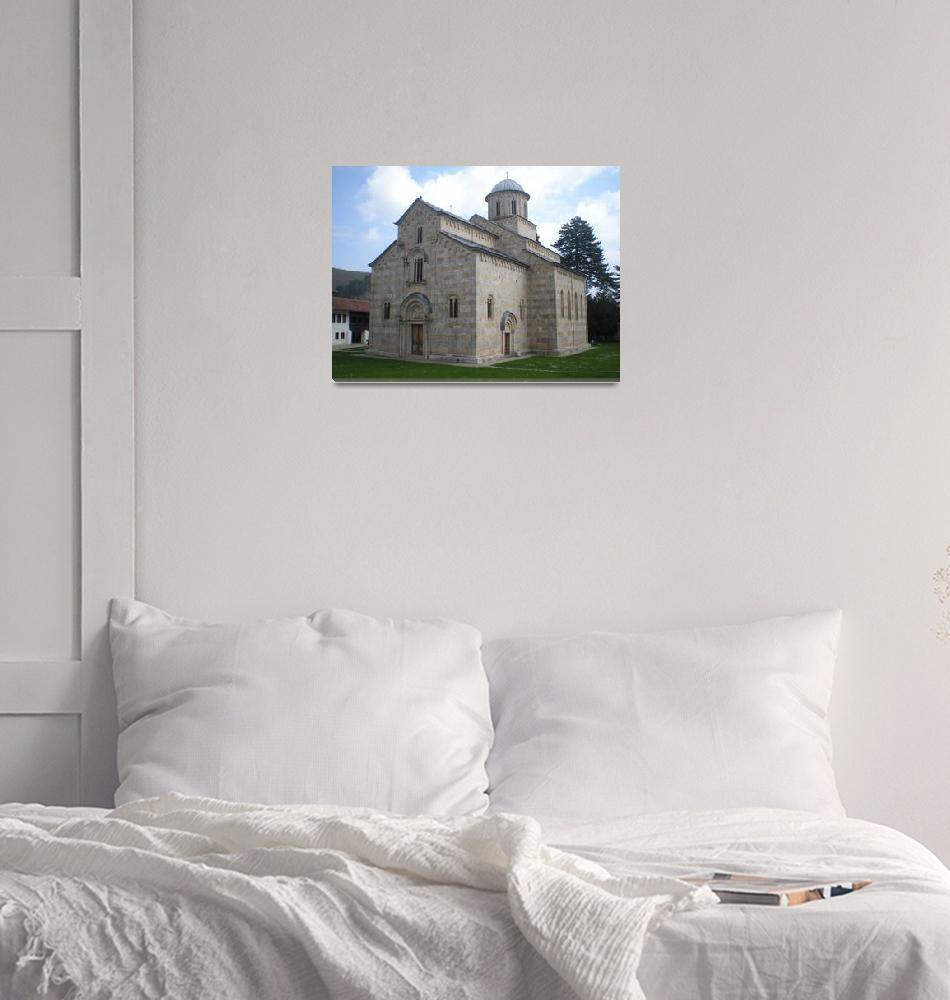 """""""Decani Monastery""""  (2009) by hisreflected"""
