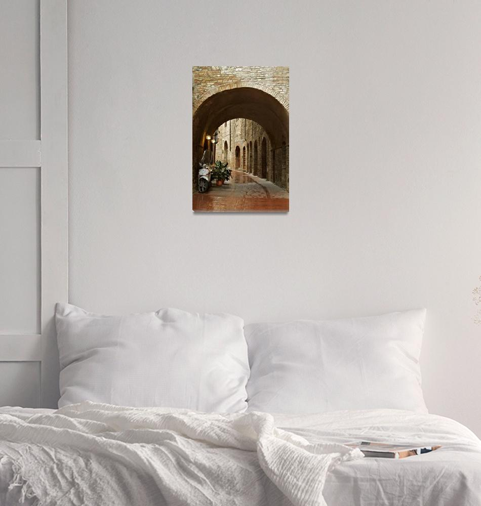 """Italian Archway""  (2010) by KWphotog"