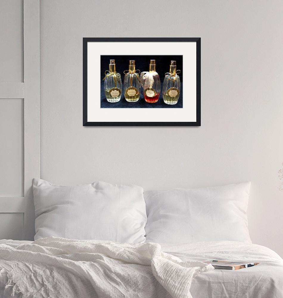 """Perfume Bottles Photo by Ginette""  (2010) by GinetteCallaway"