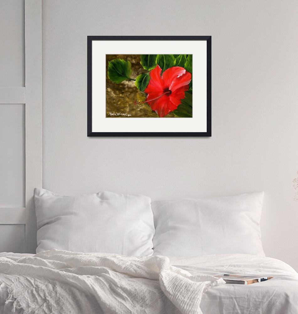 """""""Red Amapola""""  (2011) by mariawilliams"""
