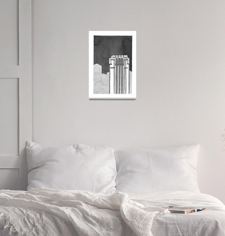 """005   Singapore, Skyscraper""  (2007) by EnricoBonilauri"