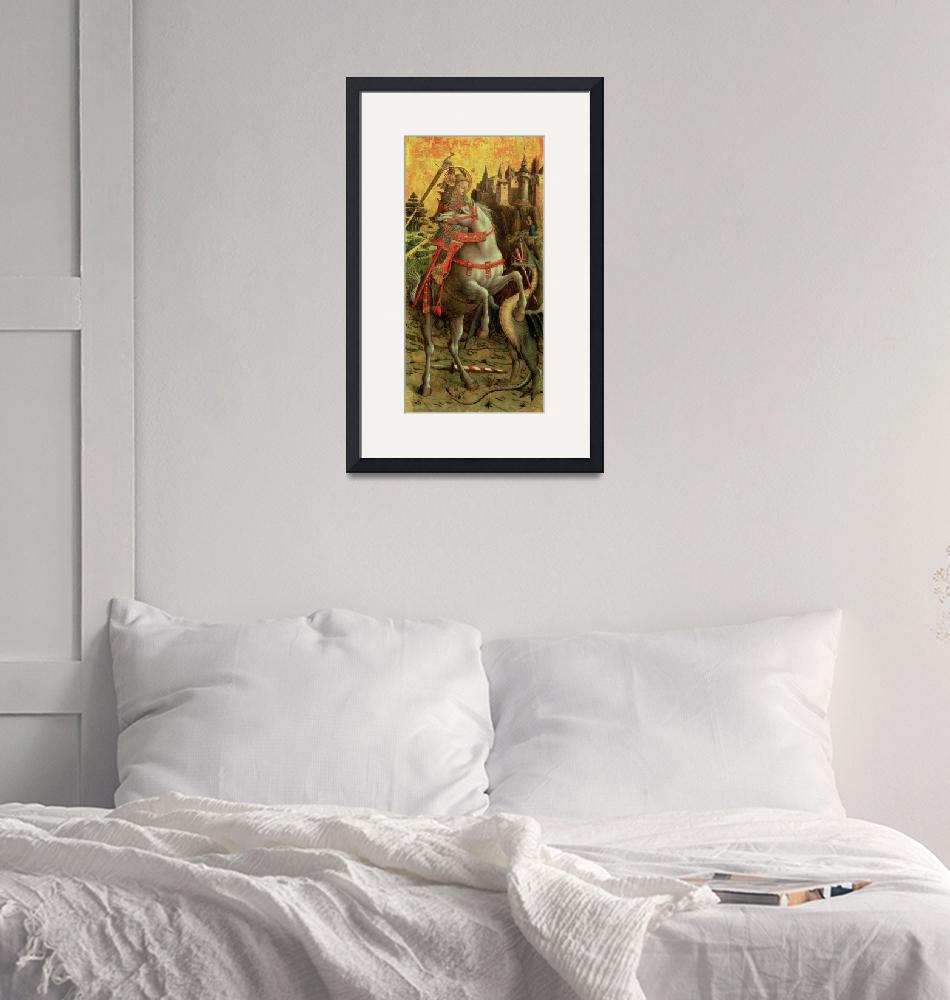 """""""St. George and the Dragon""""  by fineartmasters"""