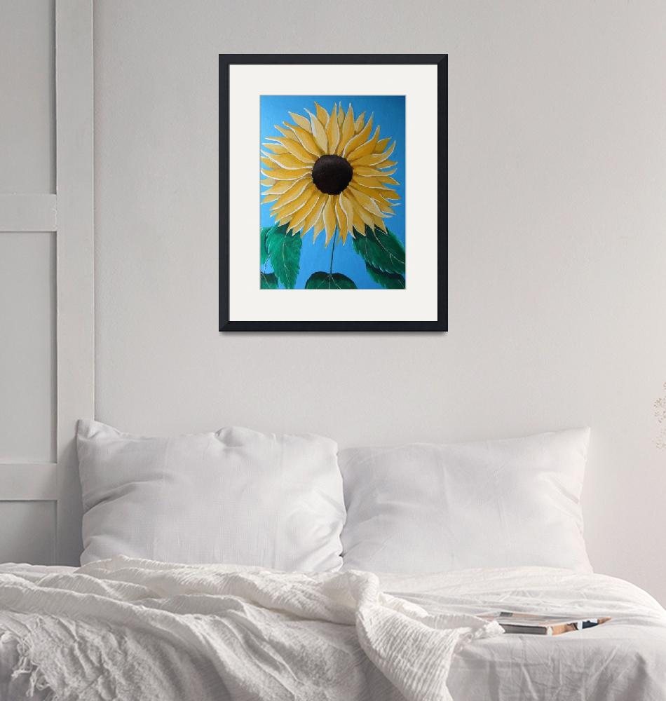 """Sunflower""  (2019) by MelanieLutes"
