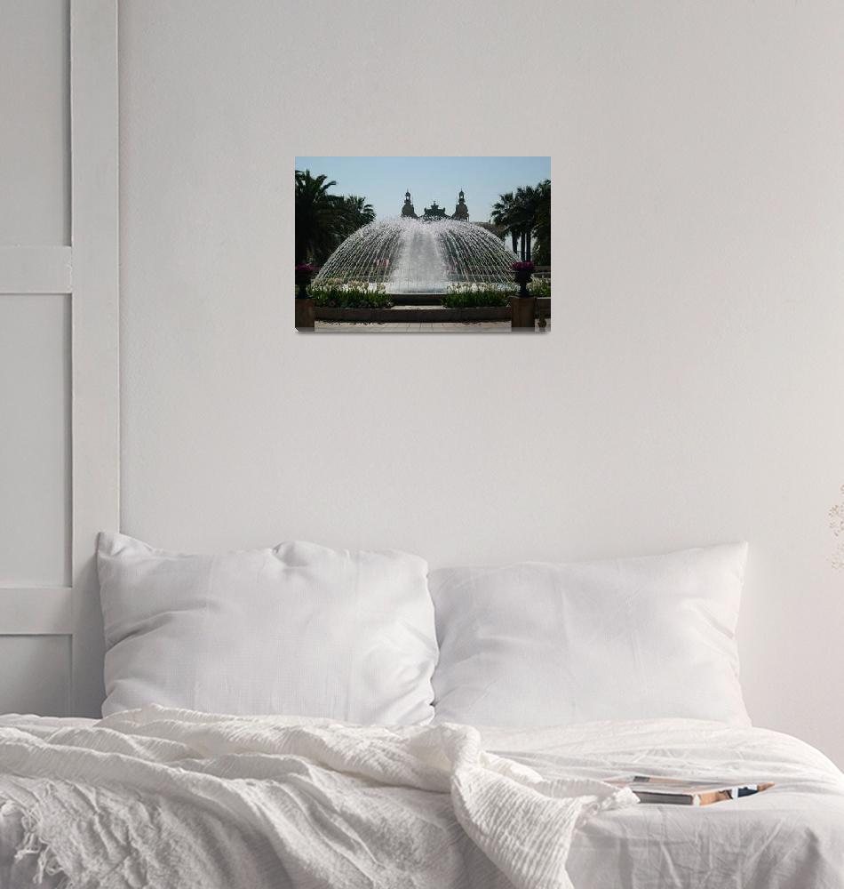 """FOUNTAIN IN CASINO GARDENS, MONTE CARLO""  (2007) by juanita_25"