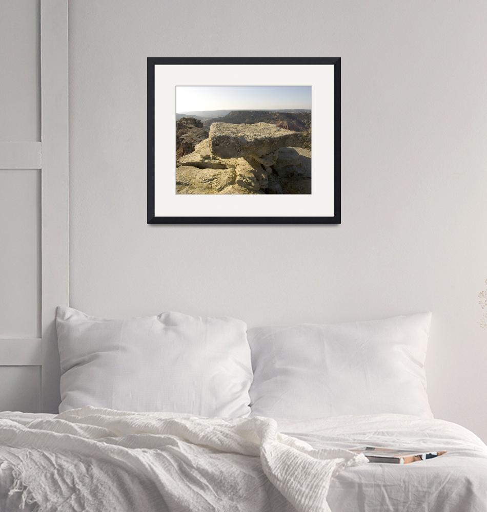 """Table Rock at Palo Duro""  (2008) by cthoward"