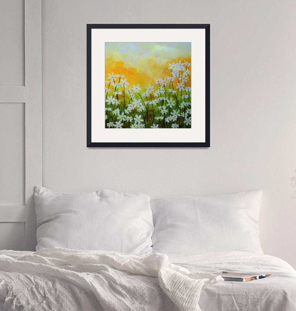 """""""Flowers of the Field""""  (2019) by HerbDickinson"""
