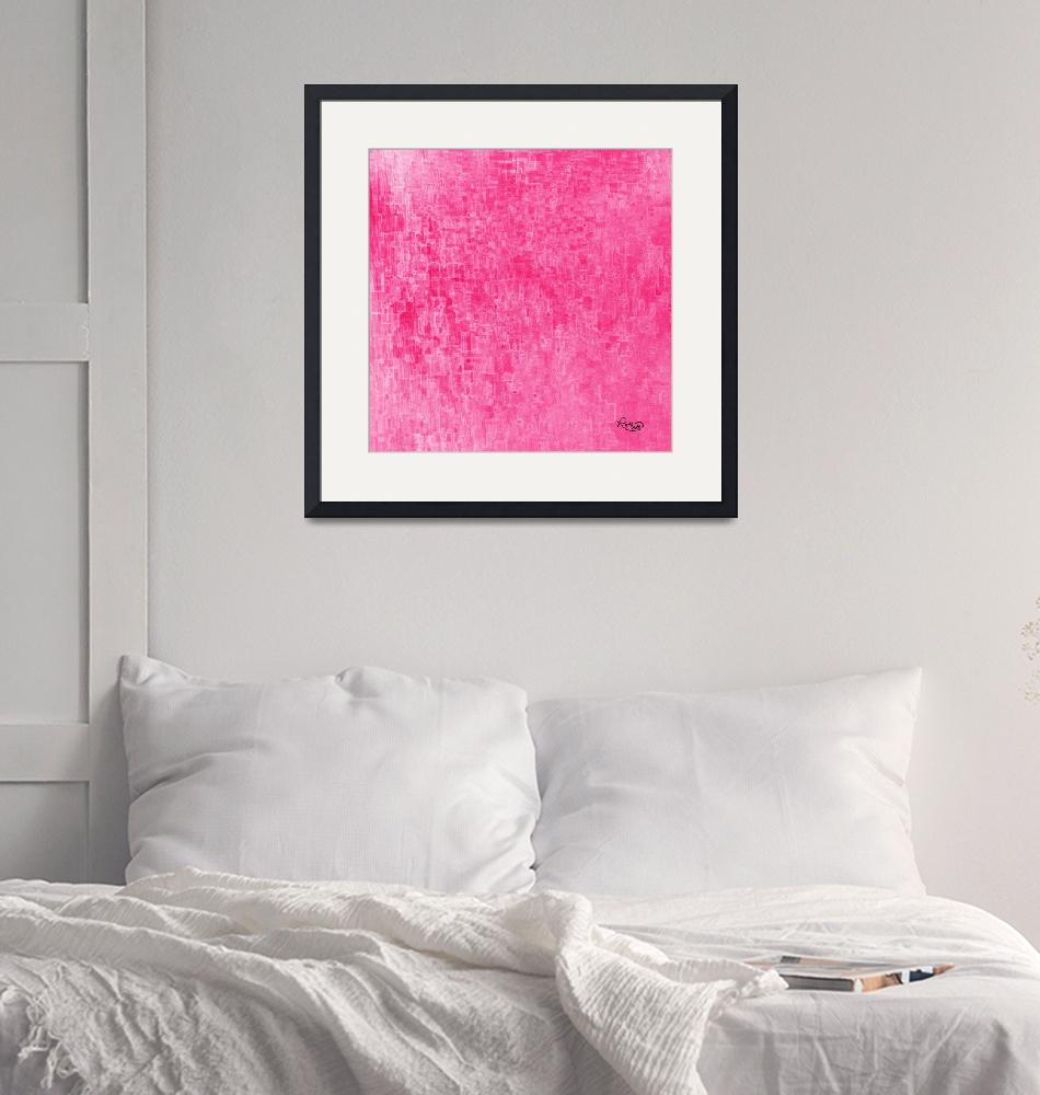 """""""Glorious Pink""""  (2017) by RuthPalmer"""