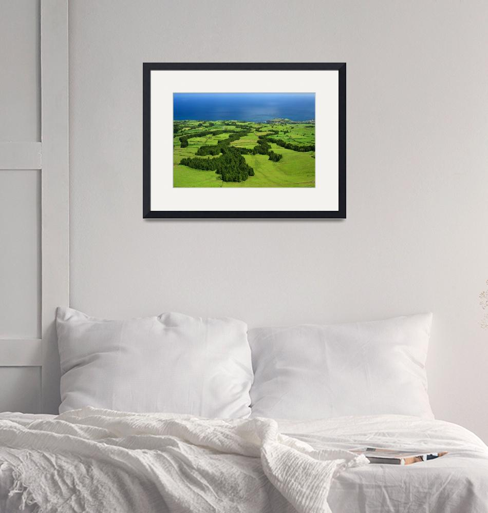 """""""Typical Azores islands landscape""""  (2008) by gavila"""