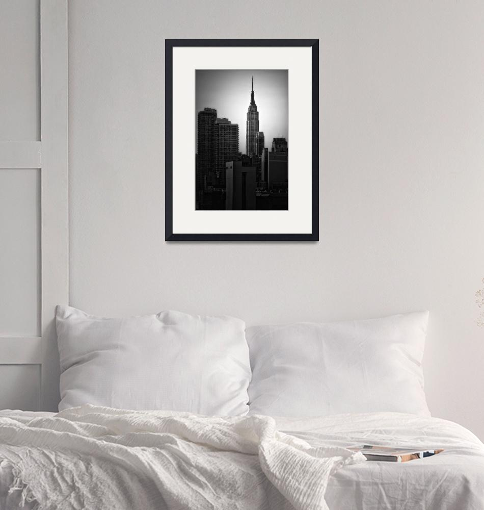 """Empire State Building""  (2011) by dennisherzog"