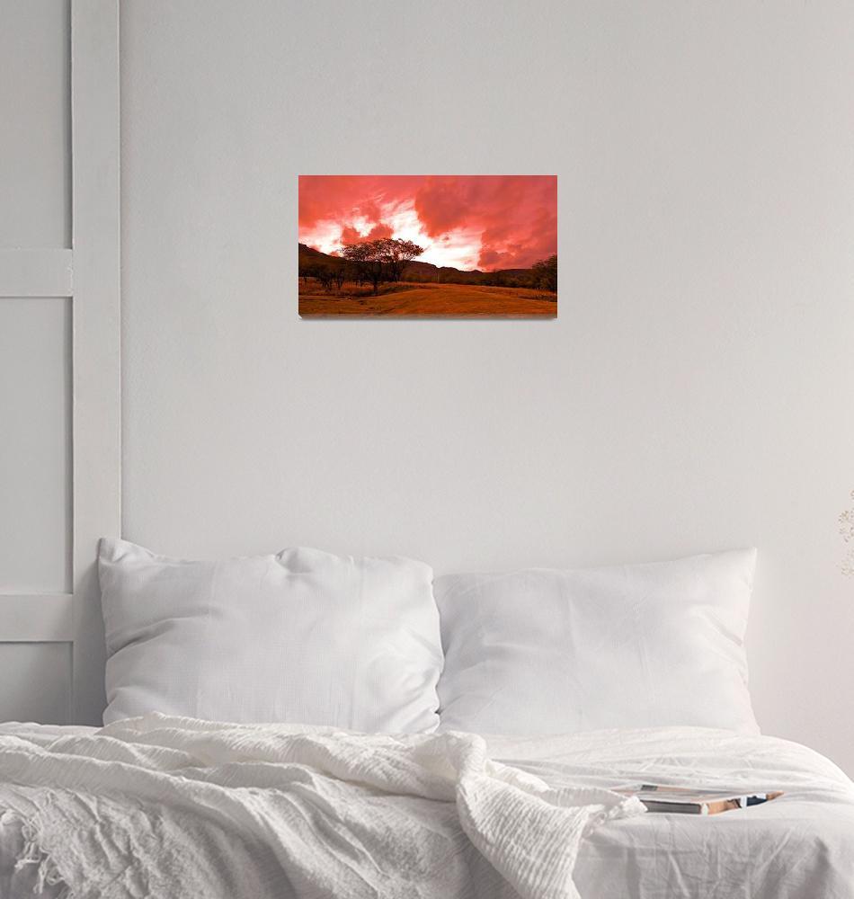 """Inside Volcano Diamond Head""  by sabreentertainment"
