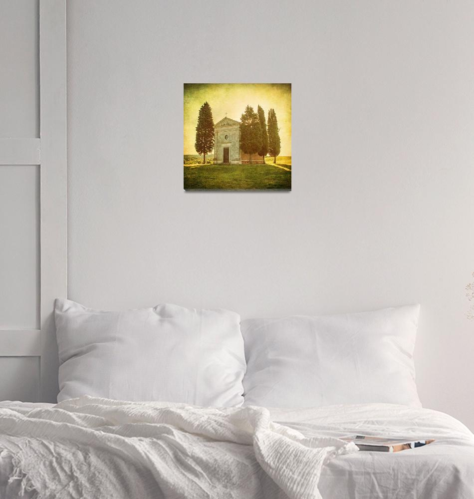 """Vintage tuscan landscape""  by kalishko"
