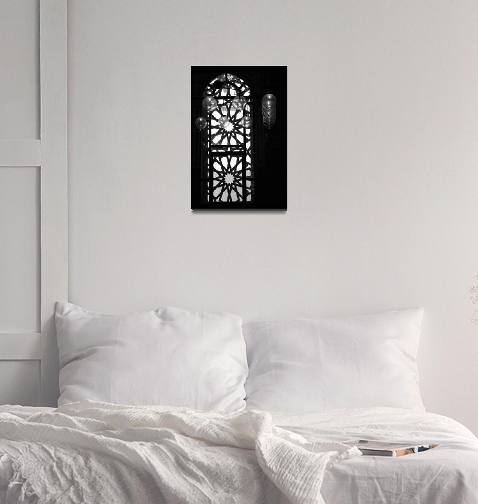 """""""Mosque Window LampBalls Aligned""""  (2007) by DonnaCorless"""
