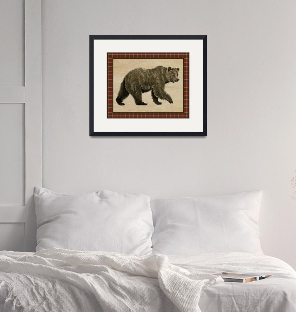 """Rustic Woods Collection - Bear""  (2017) by Littlepig"