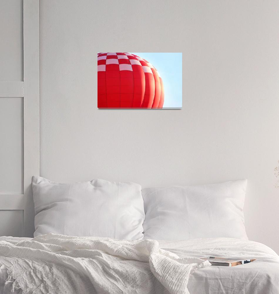 """Red Balloon""  (2015) by KsWorldArt"
