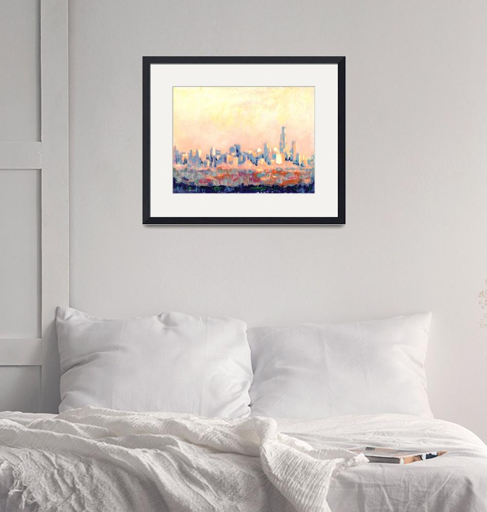 """Chicago Skyline by RD Riccoboni"" (2007) by RDRiccoboni"