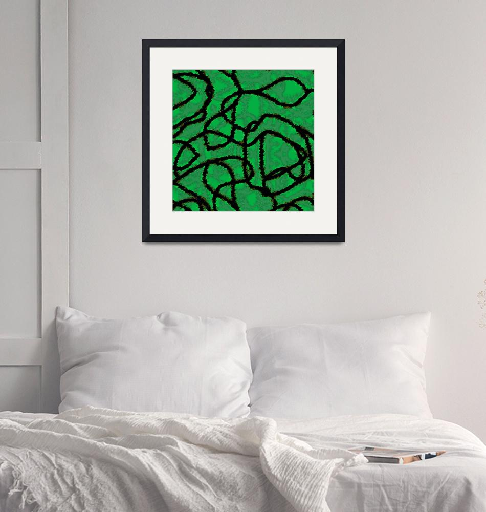 """""""Green Knots""""  by piecesofrob"""