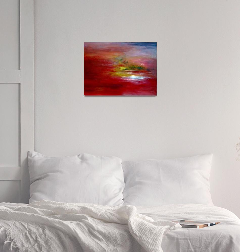 """Red Dawn""  (2009) by LeeAnnAlexander"