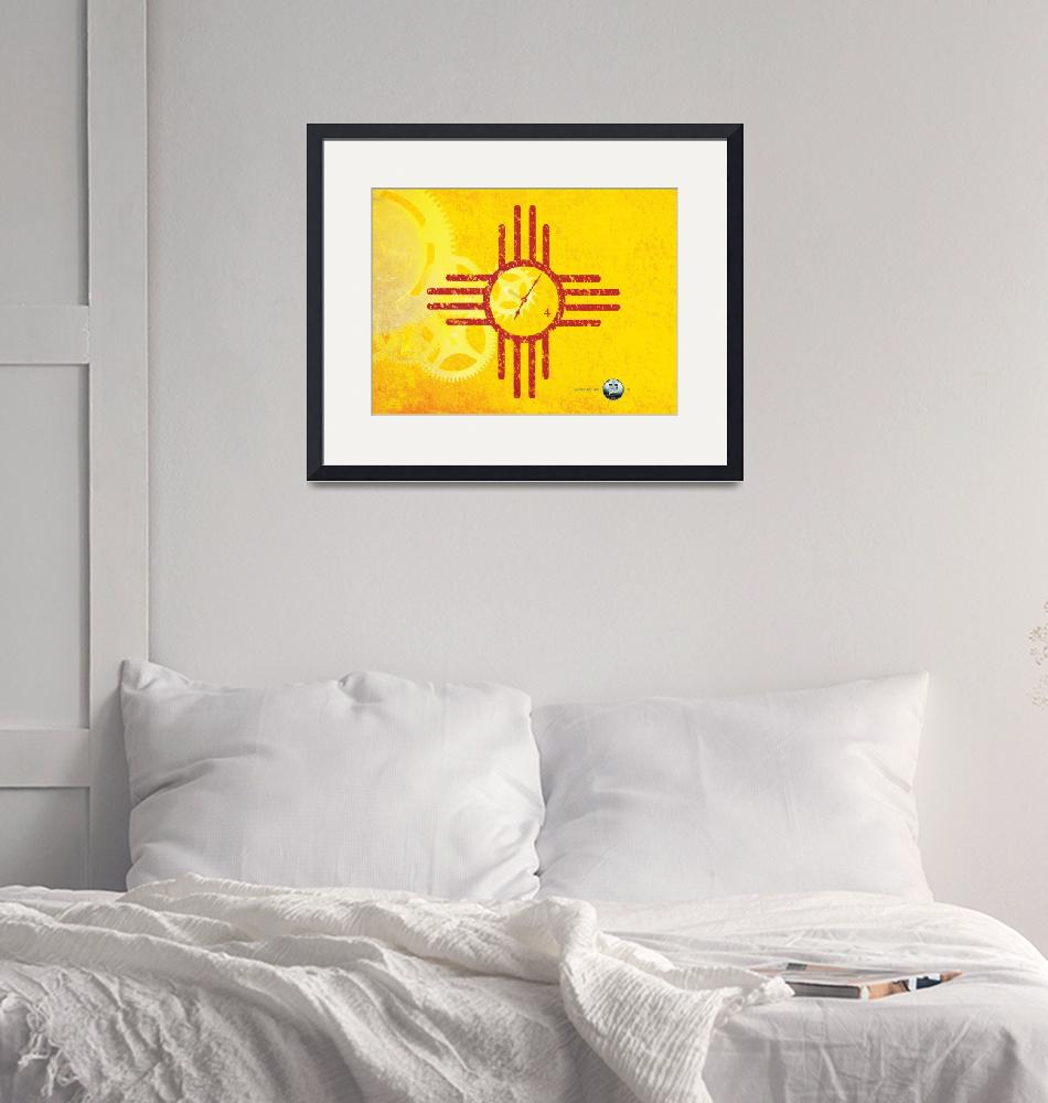 """New Mexico State Quarterama - Art 47""  (2017) by statequarters"