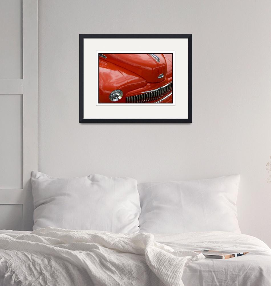 """""""Classic Car Red 07.15.07_810""""  (2007) by paulhasara"""