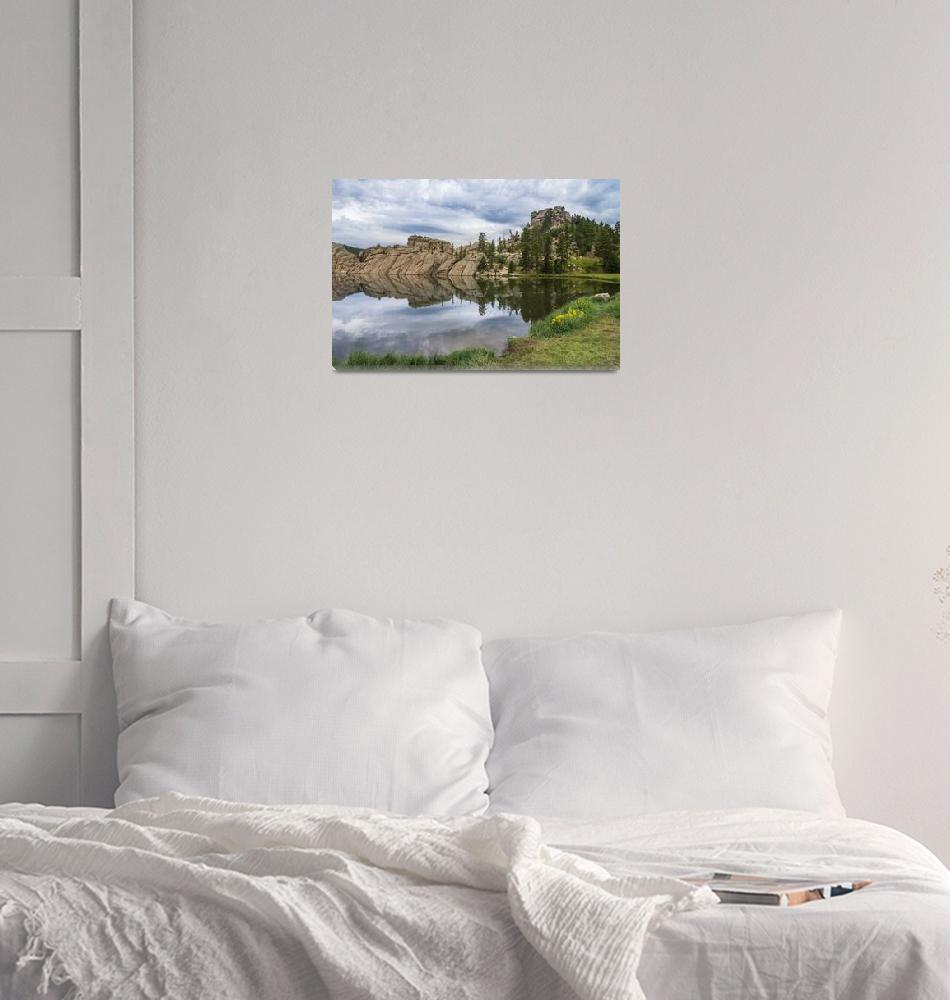 """Storm Over Sylvan Lake""  (2020) by DanBourque"