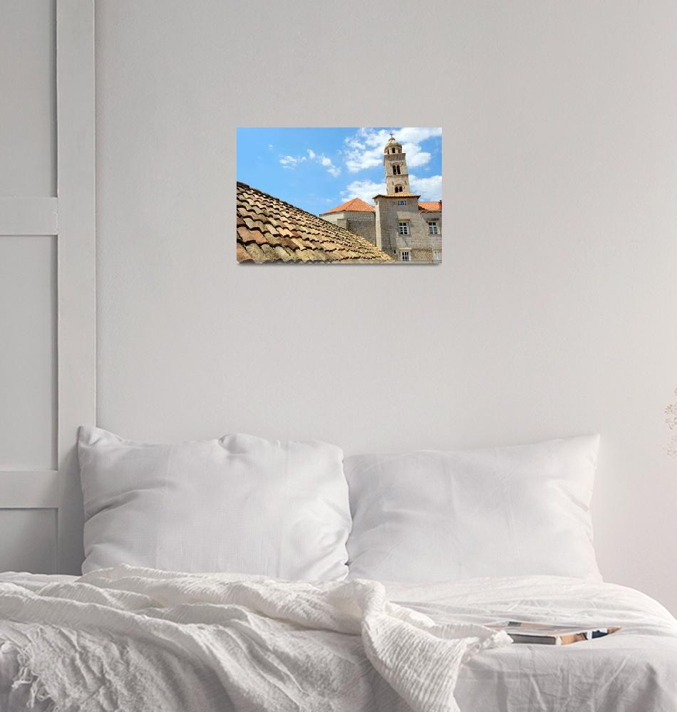 """""""Dubrovnik Roofline""""  (2008) by EppelScapes"""