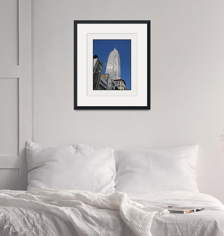 """""""Empire State Building Rising""""  (2008) by CuriousEye"""