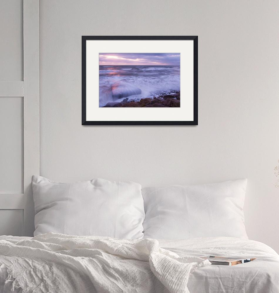 """""""Ballyconnigar Strand at dawn""""  (2007) by IanMiddletonphotography"""