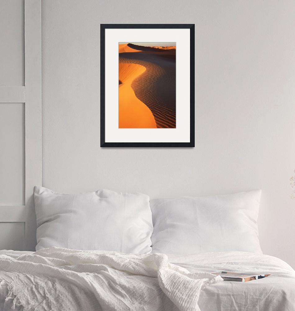"""""""Dune at sunset""""  (2005) by jbguyot"""