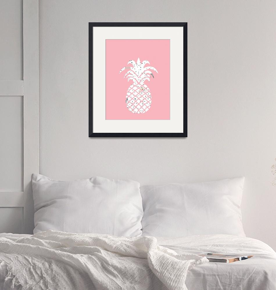 """Confetti Pineapple Pink""  by miscstudios"