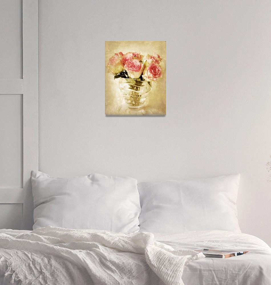"""Fresco Roses""  (2009) by JessicaJenney"