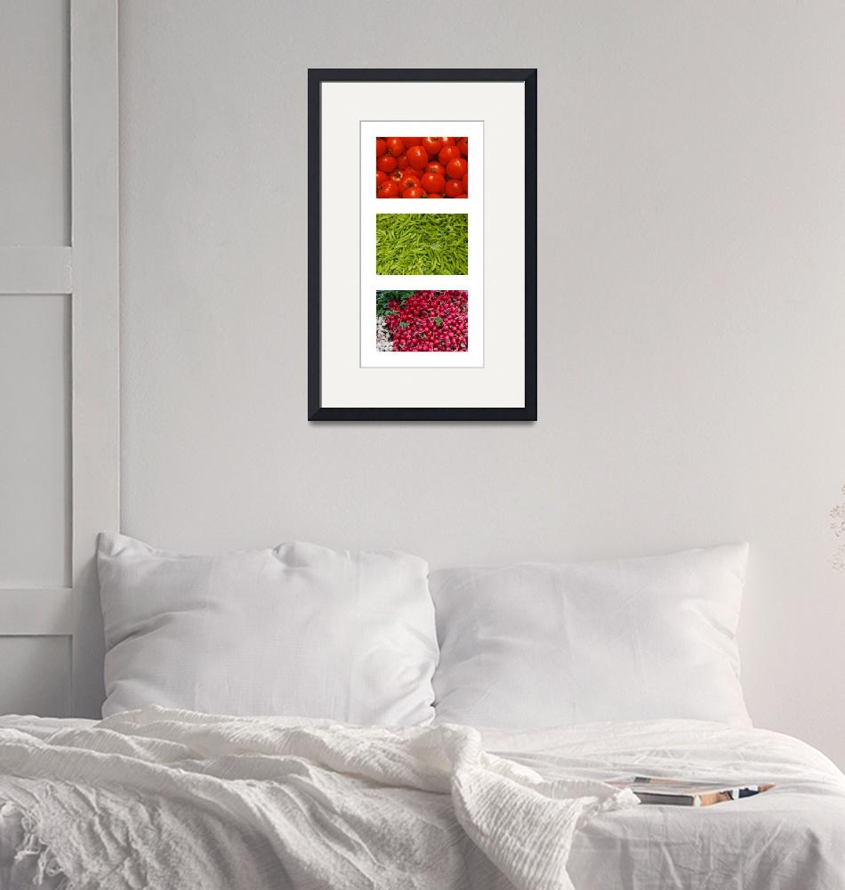 """""""Vegetable Triptych""""  (2009) by TomM"""