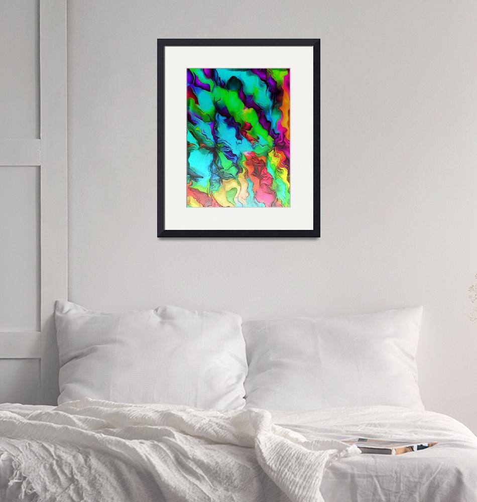 """""""CLOUDY SKY""""  (2019) by ABSTRACTARTWORX"""
