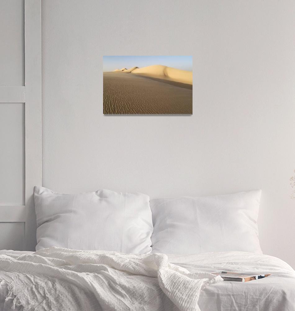 """Sahara Sand Dune - Desert Photography""  (2009) by johnzada"