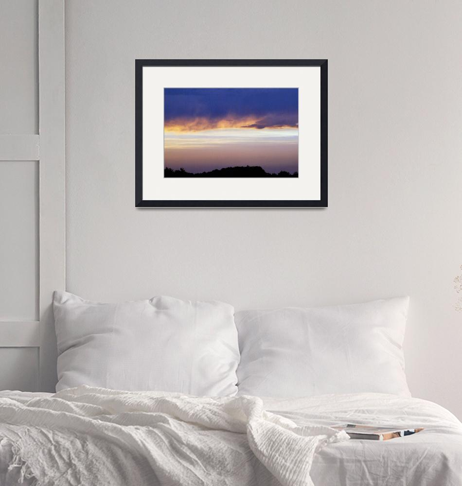 """""""Late Sunset""""  (2011) by danielbelanger"""