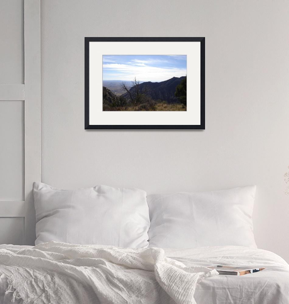 """""""Guadalupe Mountains""""  (2007) by LaurieMichel"""