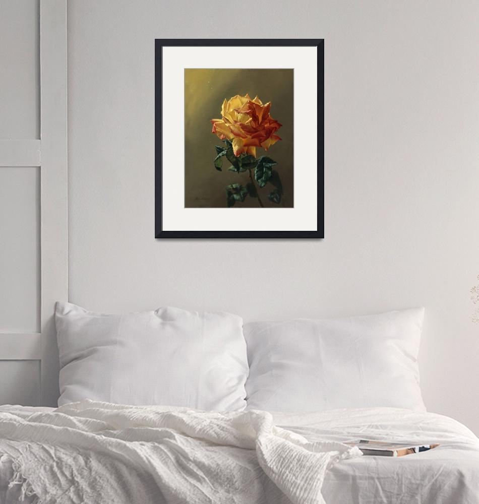 """""""Roses happen from gold""""  (2008) by Antonov"""