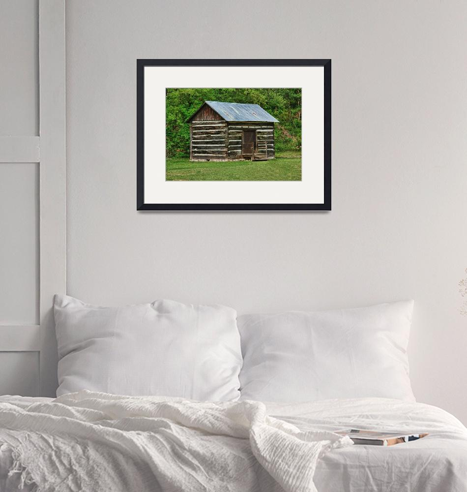 """""""Log Cabin""""  (2013) by patsphotos"""