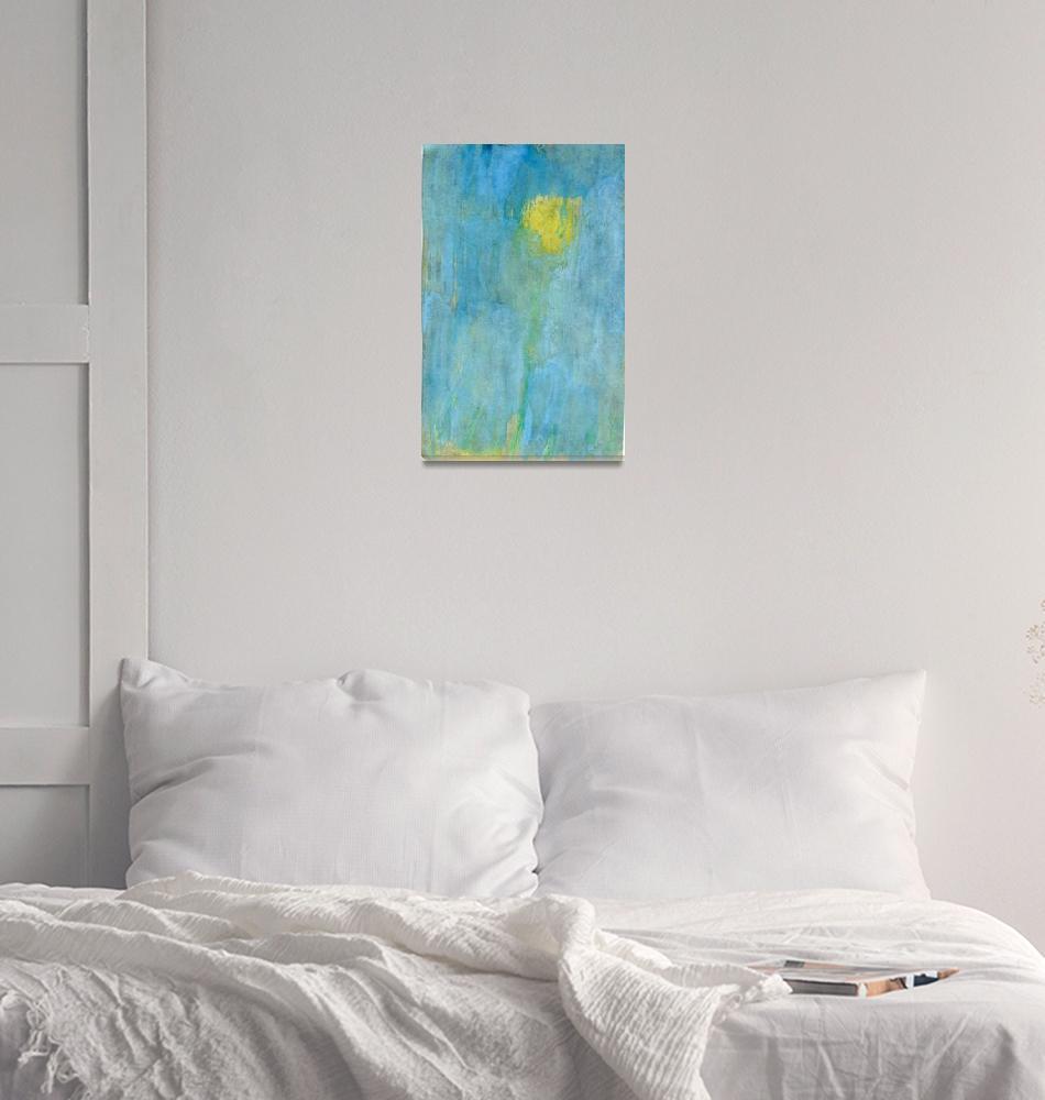 """""""taxacum5 impressionism cyanotype""""  (2013) by jnanian"""